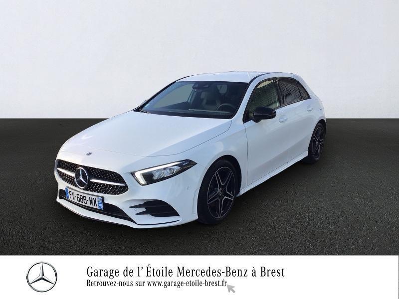 Mercedes Classe A 200 200 d 150ch AMG Line 8G-DCT Blanc occasion à BREST