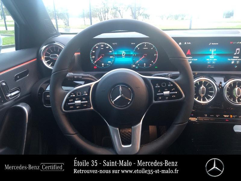 Mercedes Classe A 200 200 d 150ch Progressive Line 8G-DCT Blanc occasion à SAINT-MALO - photo n°7