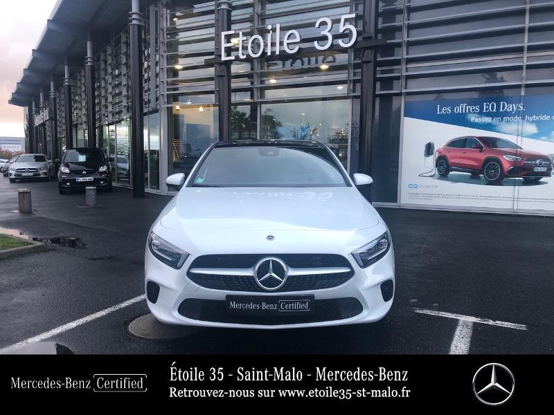 Mercedes Classe A 200 200 d 150ch Progressive Line 8G-DCT Blanc occasion à SAINT-MALO - photo n°5