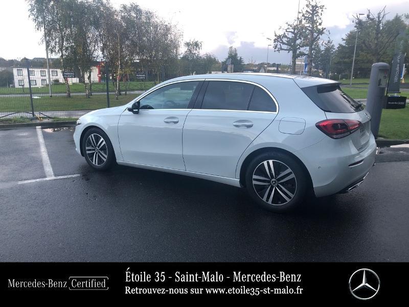 Mercedes Classe A 200 200 d 150ch Progressive Line 8G-DCT Blanc occasion à SAINT-MALO - photo n°3