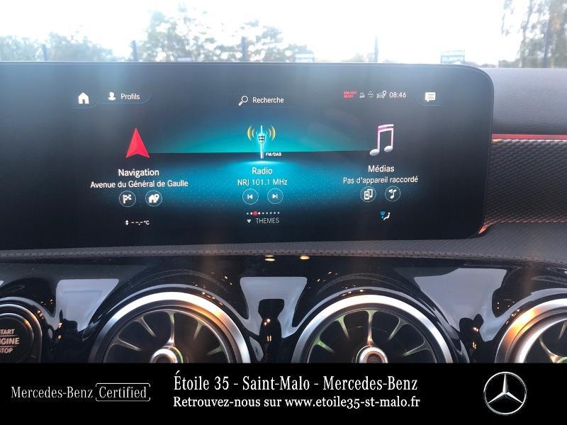 Mercedes Classe A 200 200 d 150ch Progressive Line 8G-DCT Blanc occasion à SAINT-MALO - photo n°8
