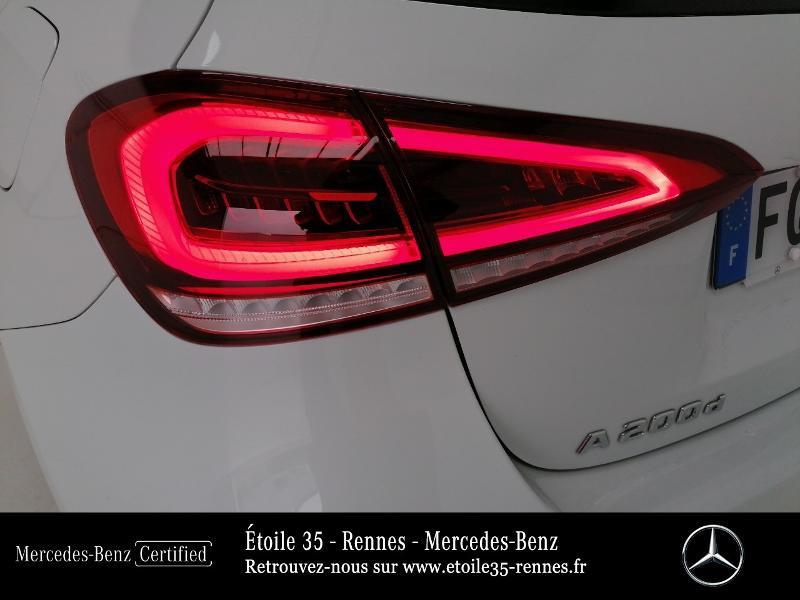 Mercedes Classe A 200 200 d 150ch Progressive Line 8G-DCT Blanc occasion à SAINT-GREGOIRE - photo n°18