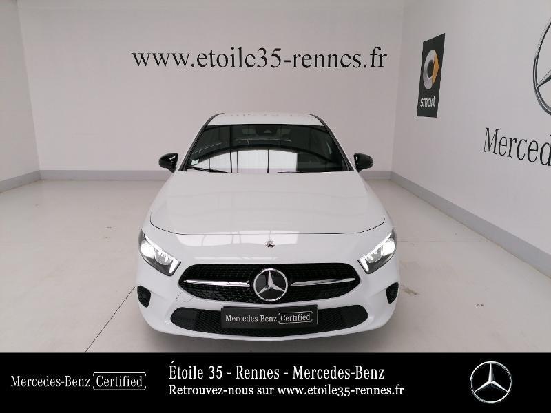 Mercedes Classe A 200 200 d 150ch Progressive Line 8G-DCT Blanc occasion à SAINT-GREGOIRE - photo n°5