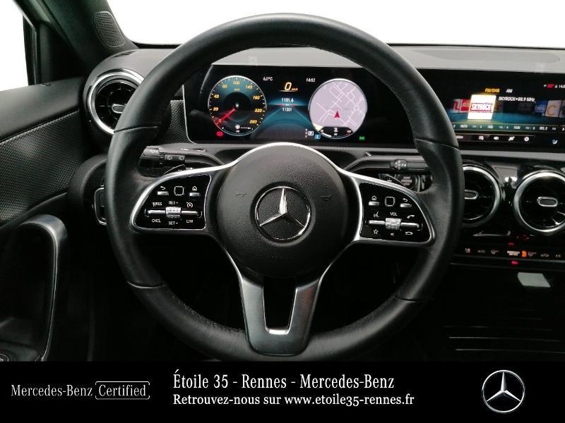 Mercedes Classe A 200 200 d 150ch Progressive Line 8G-DCT Blanc occasion à SAINT-GREGOIRE - photo n°7
