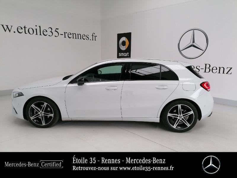 Mercedes Classe A 200 200 d 150ch Progressive Line 8G-DCT Blanc occasion à SAINT-GREGOIRE - photo n°2
