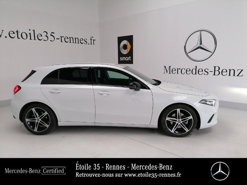 Mercedes Classe A 200 200 d 150ch Progressive Line 8G-DCT Blanc occasion à SAINT-GREGOIRE - photo n°4