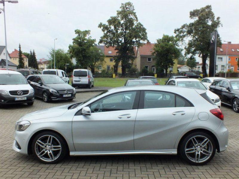 Mercedes Classe A 200 200 D AMG Argent occasion à Beaupuy - photo n°9