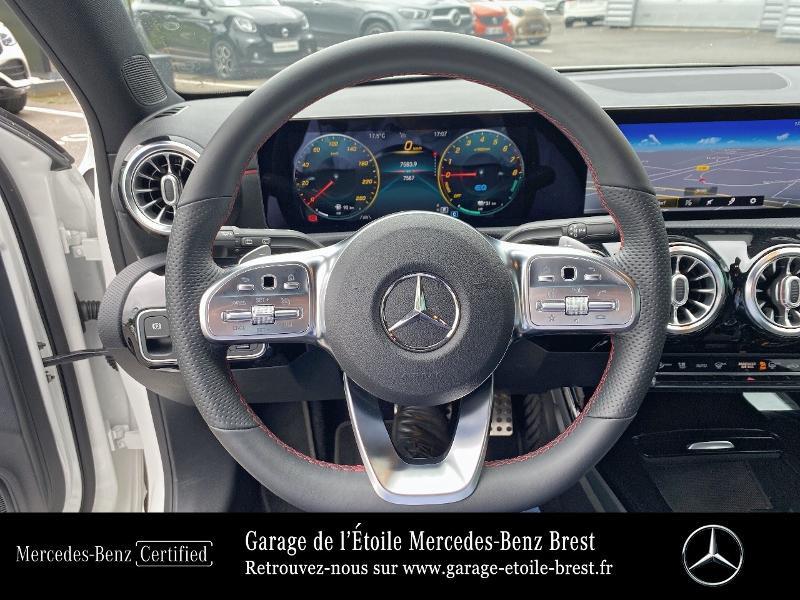 Mercedes Classe A 250 e 160+102ch AMG Line 8G-DCT 8cv Blanc occasion à BREST - photo n°7