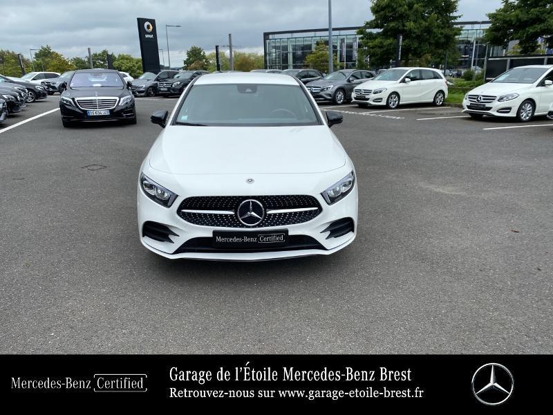 Mercedes Classe A 250 e 160+102ch AMG Line 8G-DCT 8cv Blanc occasion à BREST - photo n°5