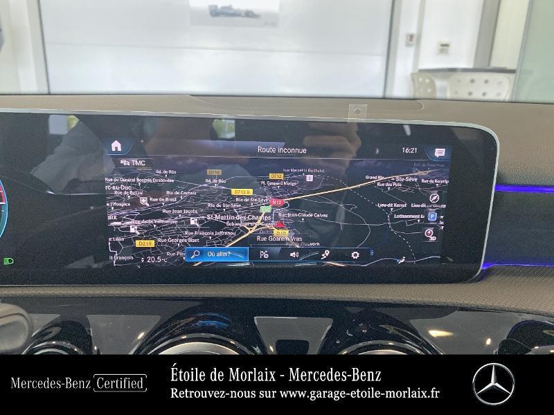 Mercedes Classe A 250 e 160+102ch AMG Line 8G-DCT 8cv Noir occasion à Saint Martin des Champs - photo n°8
