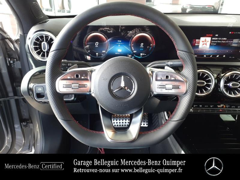 Mercedes Classe A 250 e 160+102ch AMG Line 8G-DCT Gris occasion à QUIMPER - photo n°7