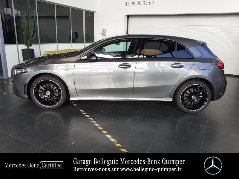 Mercedes Classe A 250 e 160+102ch AMG Line 8G-DCT Gris occasion à QUIMPER - photo n°2