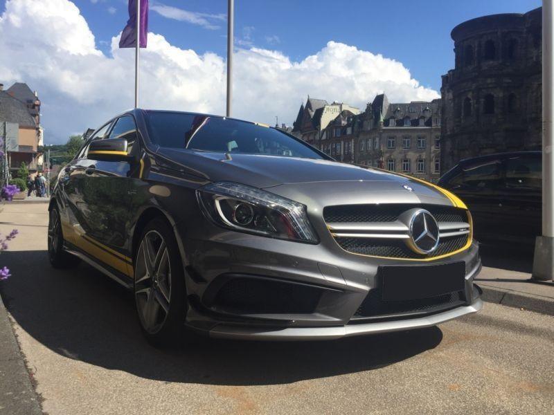 Mercedes Classe A 45 AMG 4 Matic Gris occasion à Beaupuy