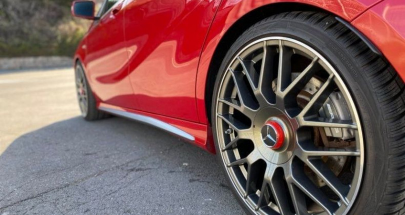 Mercedes Classe A 45 AMG 45 AMG 4Matic Rouge occasion à Bruay La Buissière - photo n°3