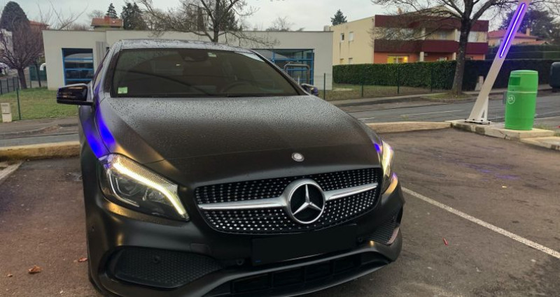 Mercedes Classe A III 250 Fascination 7G-DCT Noir occasion à Boulogne-Billancourt - photo n°6