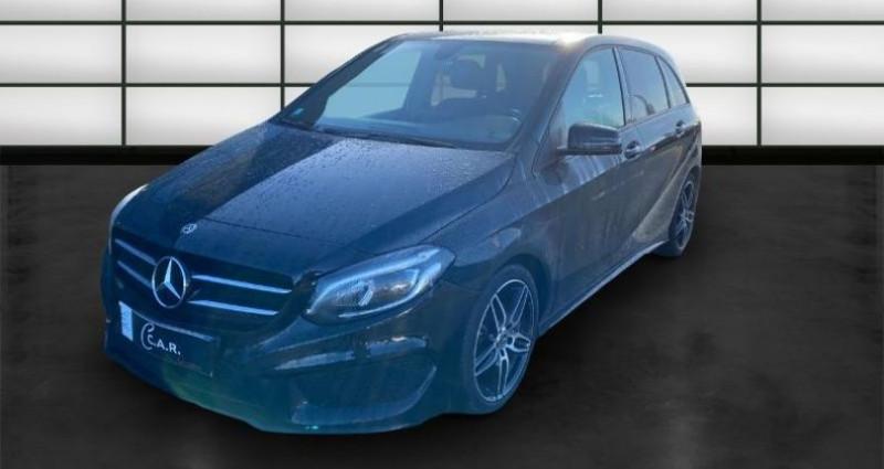 Mercedes Classe B 180 180 122ch Fascination 7G-DCT Euro6d-T Noir occasion à La Rochelle