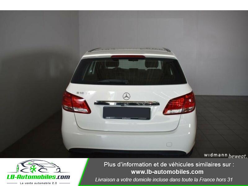 Mercedes Classe B 180 180 CDI Blanc occasion à Beaupuy - photo n°9