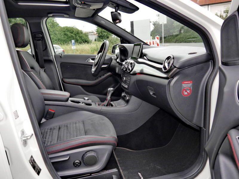 Mercedes Classe B 200 200 CDI AMG Blanc occasion à Beaupuy - photo n°4