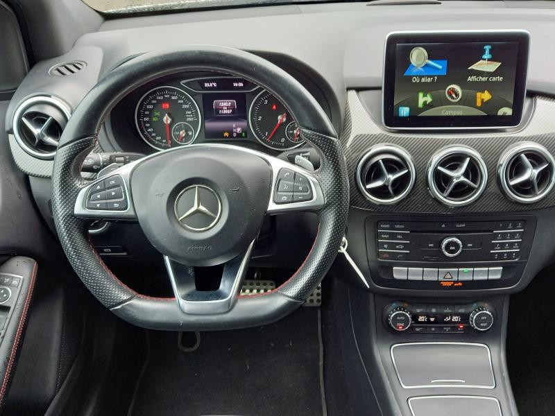 Mercedes Classe B 200 200 CDI Fascination 7G-DCT Pack AMG Argent occasion à Flers - photo n°8