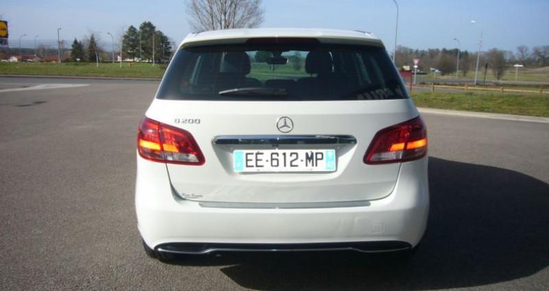 Mercedes Classe B 200 200 INSPIRATION BV6 Blanc occasion à Villerest - photo n°4