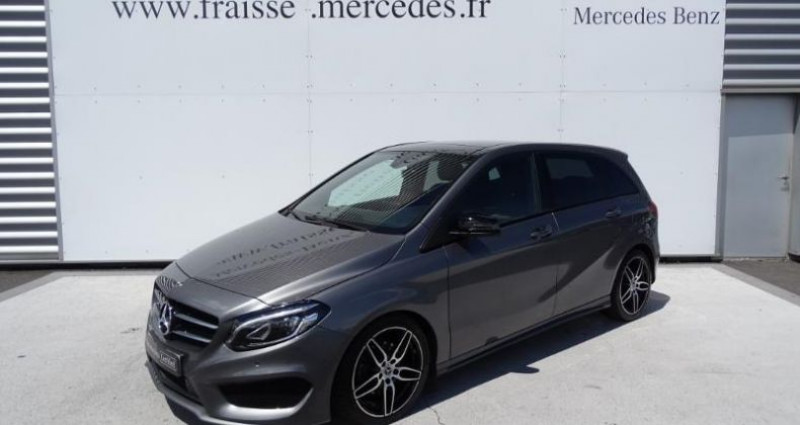 Mercedes Classe B 200 200d 136ch Fascination 4Matic 7G-DCT Gris occasion à Saint-germain-laprade