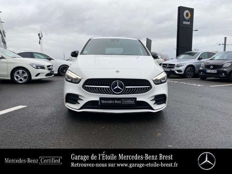 Mercedes Classe B 200 200d 150ch AMG Line Edition 8G-DCT 7cv Blanc occasion à BREST - photo n°5