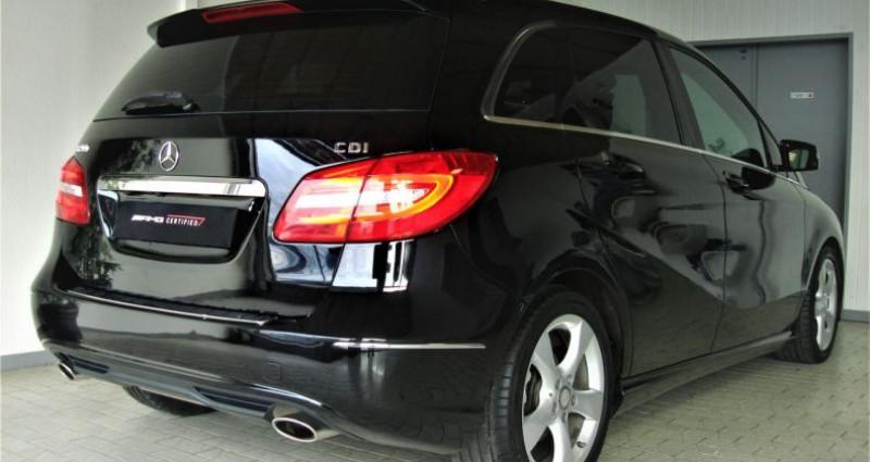 Mercedes Classe B 200 CLASSE B II 200 CDI 136ch SPORT 7G-DCT Noir occasion à UNGERSHEIM - photo n°4