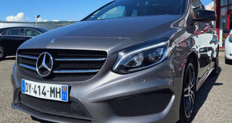 Mercedes Classe B 200 II (W246) 200 CDI Fascination 7G-DCT Gris occasion à EPAGNY