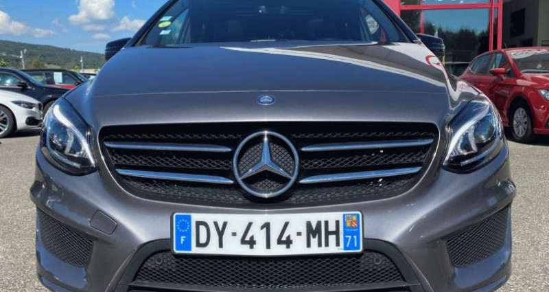 Mercedes Classe B 200 II (W246) 200 CDI Fascination 7G-DCT Gris occasion à EPAGNY - photo n°5