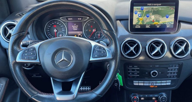 Mercedes Classe B 200 II (W246) 200 CDI Fascination 7G-DCT Gris occasion à EPAGNY - photo n°6