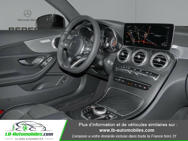 Mercedes Classe C 180 180 9G-Tronic / AMG Line Noir occasion à Beaupuy - photo n°2
