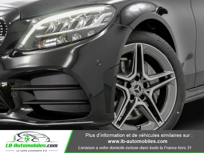Mercedes Classe C 180 180 9G-Tronic / AMG Line Noir occasion à Beaupuy - photo n°10