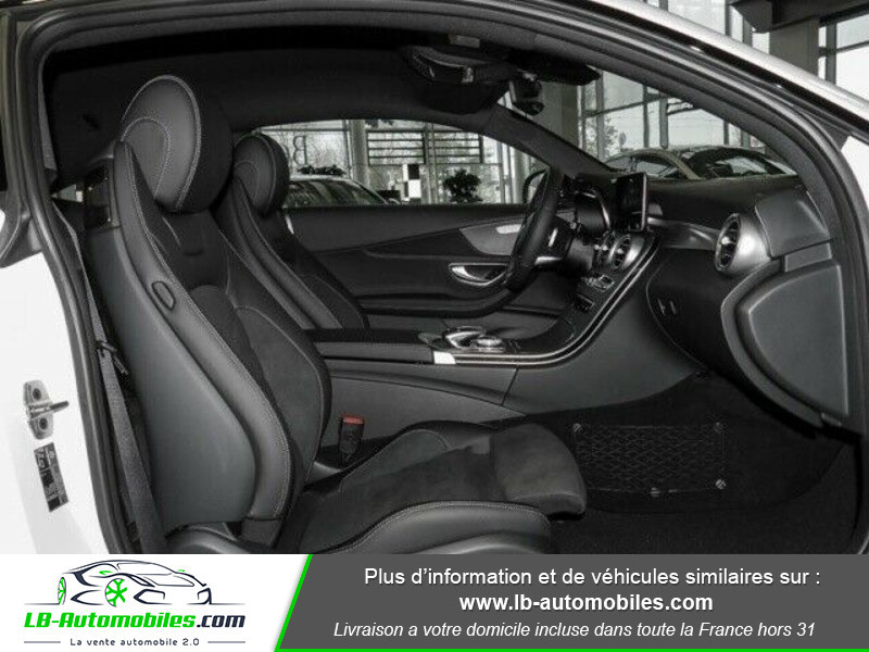 Mercedes Classe C 180 180 9G-Tronic / AMG Line Blanc occasion à Beaupuy - photo n°4