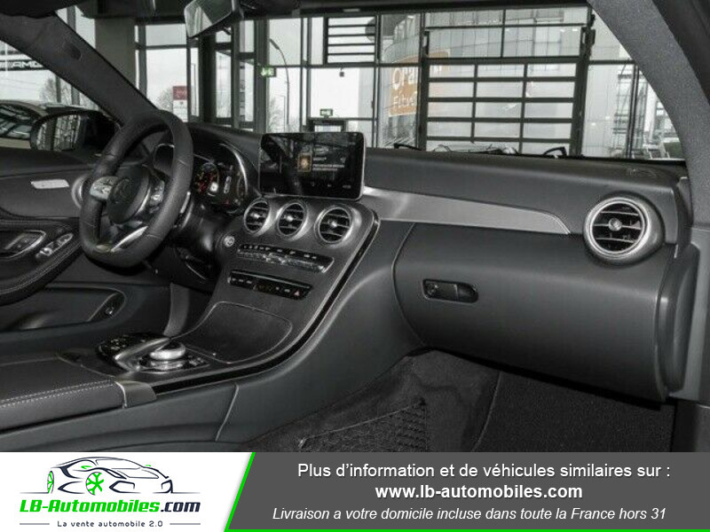 Mercedes Classe C 180 180 9G-Tronic / AMG Line Blanc occasion à Beaupuy - photo n°2