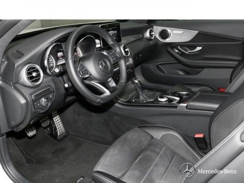Mercedes Classe C 180 180 Coupé Blanc occasion à Beaupuy - photo n°2