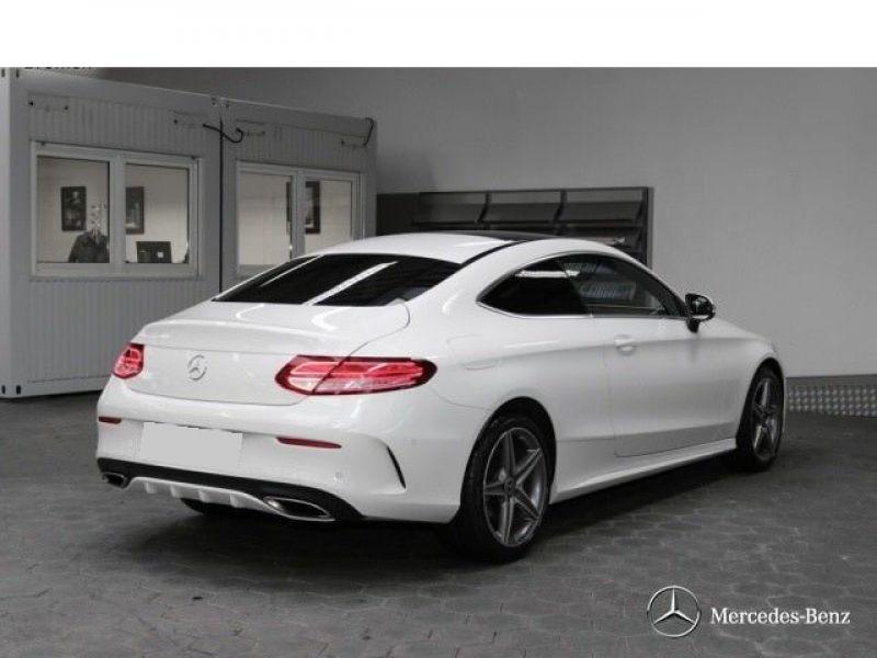 Mercedes Classe C 180 180 Coupé Blanc occasion à Beaupuy - photo n°3