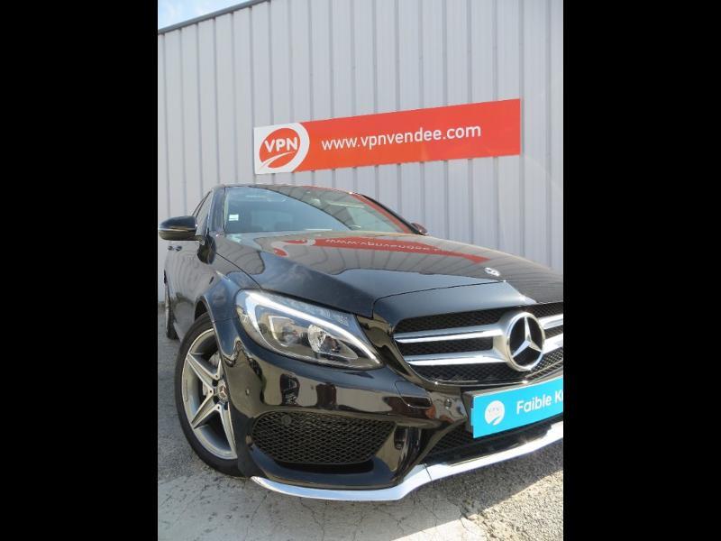 Mercedes Classe C 180 180 d Sportline 7G-Tronic Plus Noir occasion à La Roche-sur-Yon - photo n°2