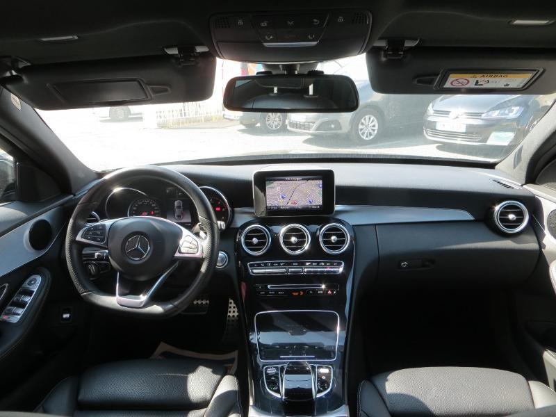 Mercedes Classe C 180 180 d Sportline 7G-Tronic Plus Noir occasion à La Roche-sur-Yon - photo n°9