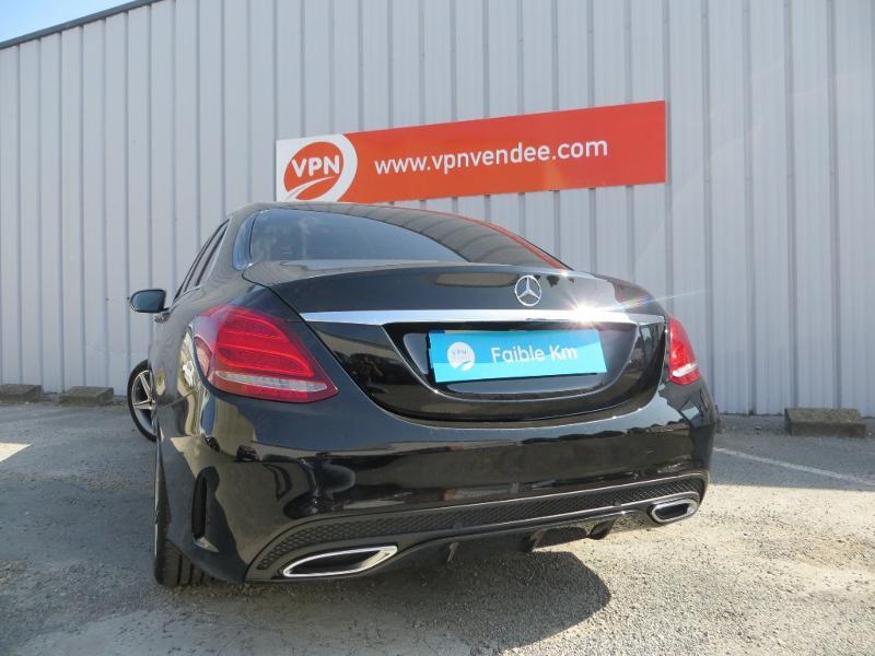 Mercedes Classe C 180 180 d Sportline 7G-Tronic Plus Noir occasion à La Roche-sur-Yon - photo n°17