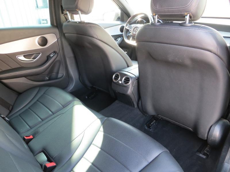 Mercedes Classe C 180 180 d Sportline 7G-Tronic Plus Noir occasion à La Roche-sur-Yon - photo n°8