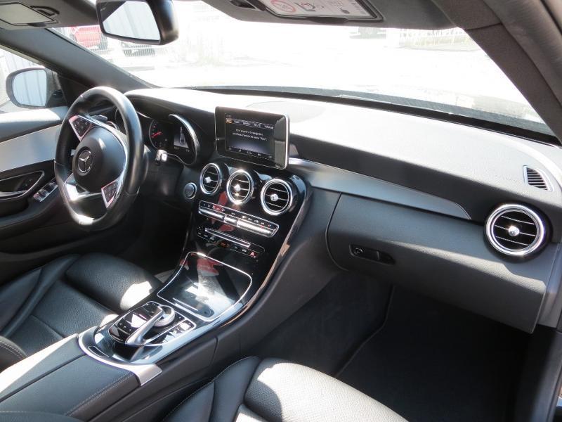 Mercedes Classe C 180 180 d Sportline 7G-Tronic Plus Noir occasion à La Roche-sur-Yon - photo n°6