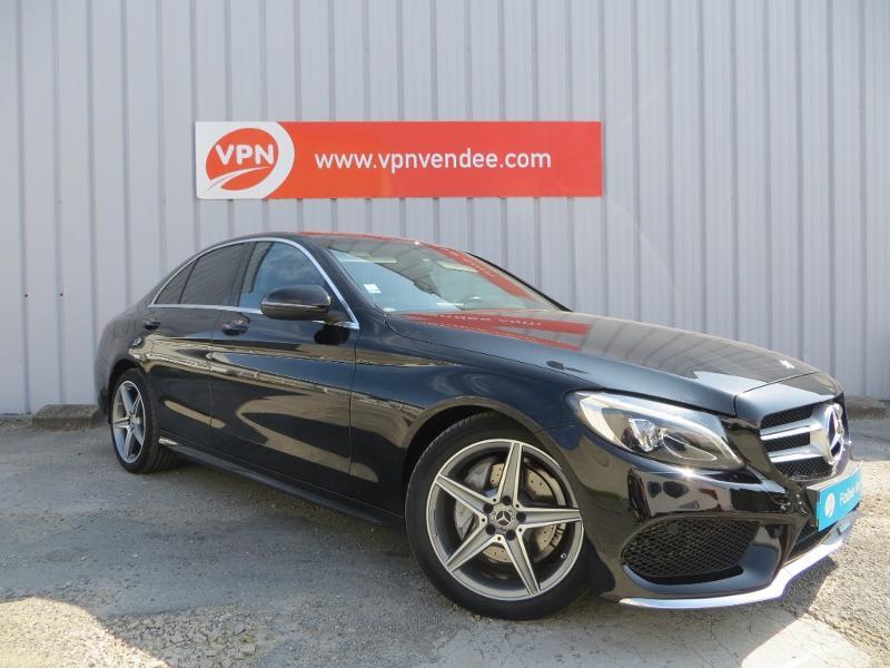 Mercedes Classe C 180 180 d Sportline 7G-Tronic Plus Noir occasion à La Roche-sur-Yon