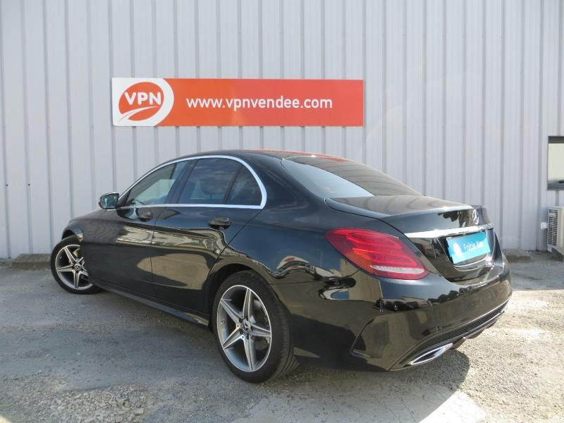 Mercedes Classe C 180 180 d Sportline 7G-Tronic Plus Noir occasion à La Roche-sur-Yon - photo n°10