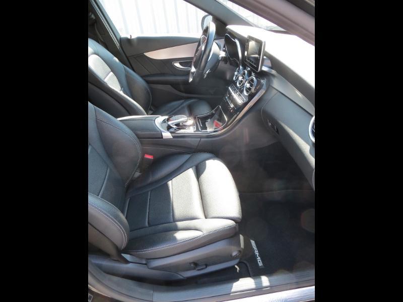 Mercedes Classe C 180 180 d Sportline 7G-Tronic Plus Noir occasion à La Roche-sur-Yon - photo n°5
