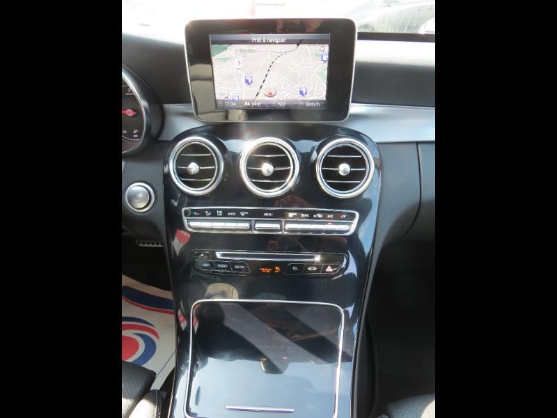 Mercedes Classe C 180 180 d Sportline 7G-Tronic Plus Noir occasion à La Roche-sur-Yon - photo n°13