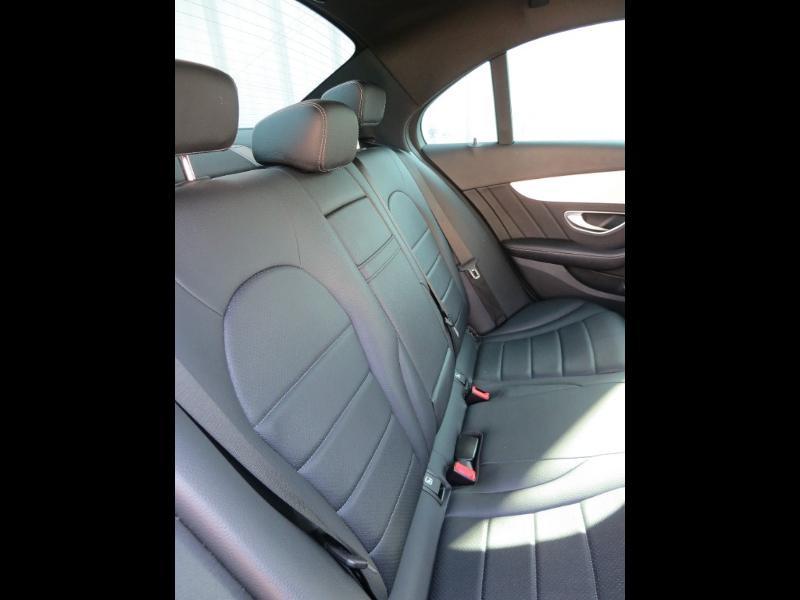 Mercedes Classe C 180 180 d Sportline 7G-Tronic Plus Noir occasion à La Roche-sur-Yon - photo n°7