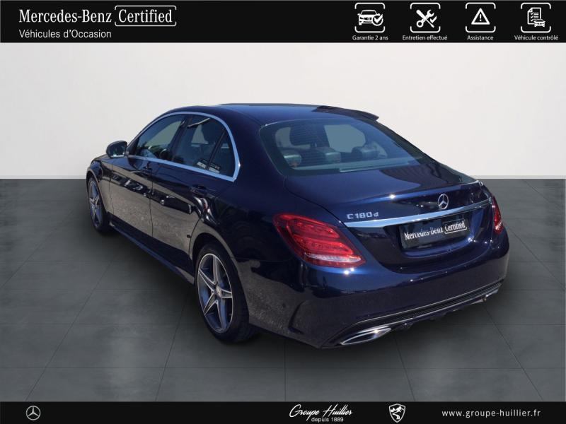 Mercedes Classe C 180 180 d Sportline Bleu occasion à Gières - photo n°3