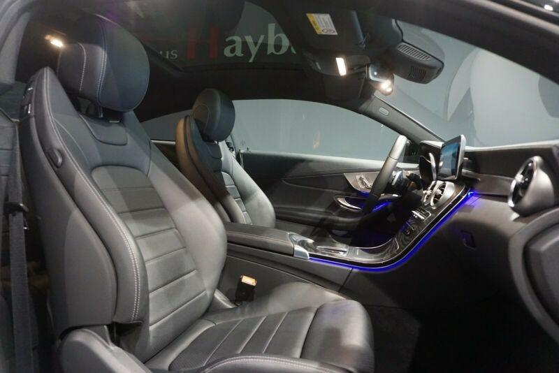 Mercedes Classe C 200 (C205) 200 184CH AMG LINE 9G-TRONIC EURO6D-T Blanc occasion à Villenave-d'Ornon - photo n°7