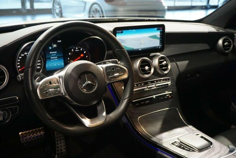 Mercedes Classe C 200 (C205) 200 184CH AMG LINE 9G-TRONIC EURO6D-T Blanc occasion à Villenave-d'Ornon - photo n°6