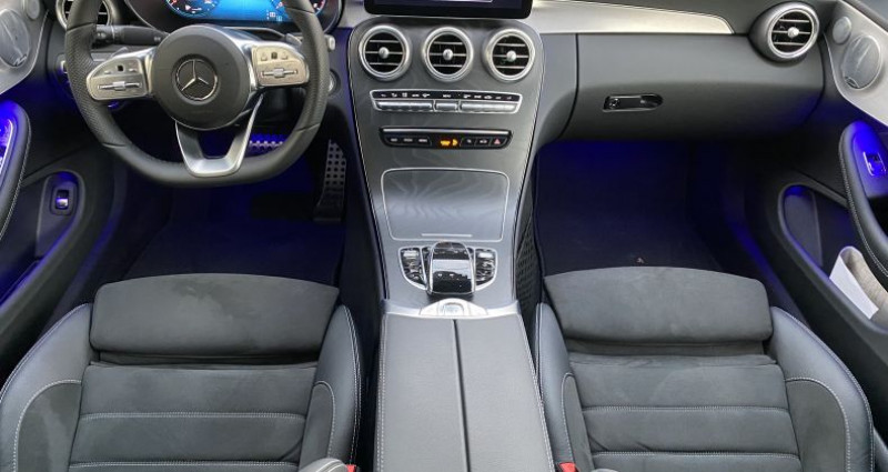 Mercedes Classe C 200 200 184ch AMG Line 9GTronic Noir occasion à AVRILLE - photo n°2